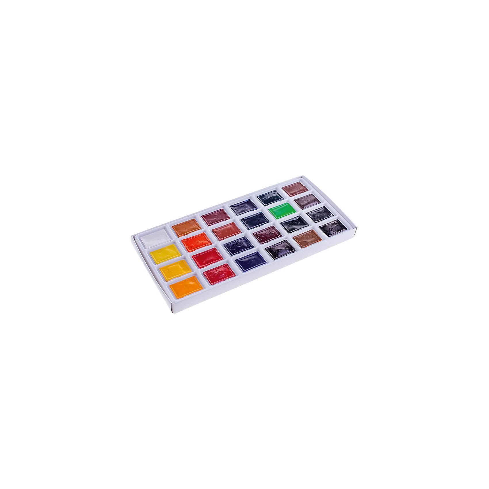 Акварель 24 цвета Сонет, кювет от myToys