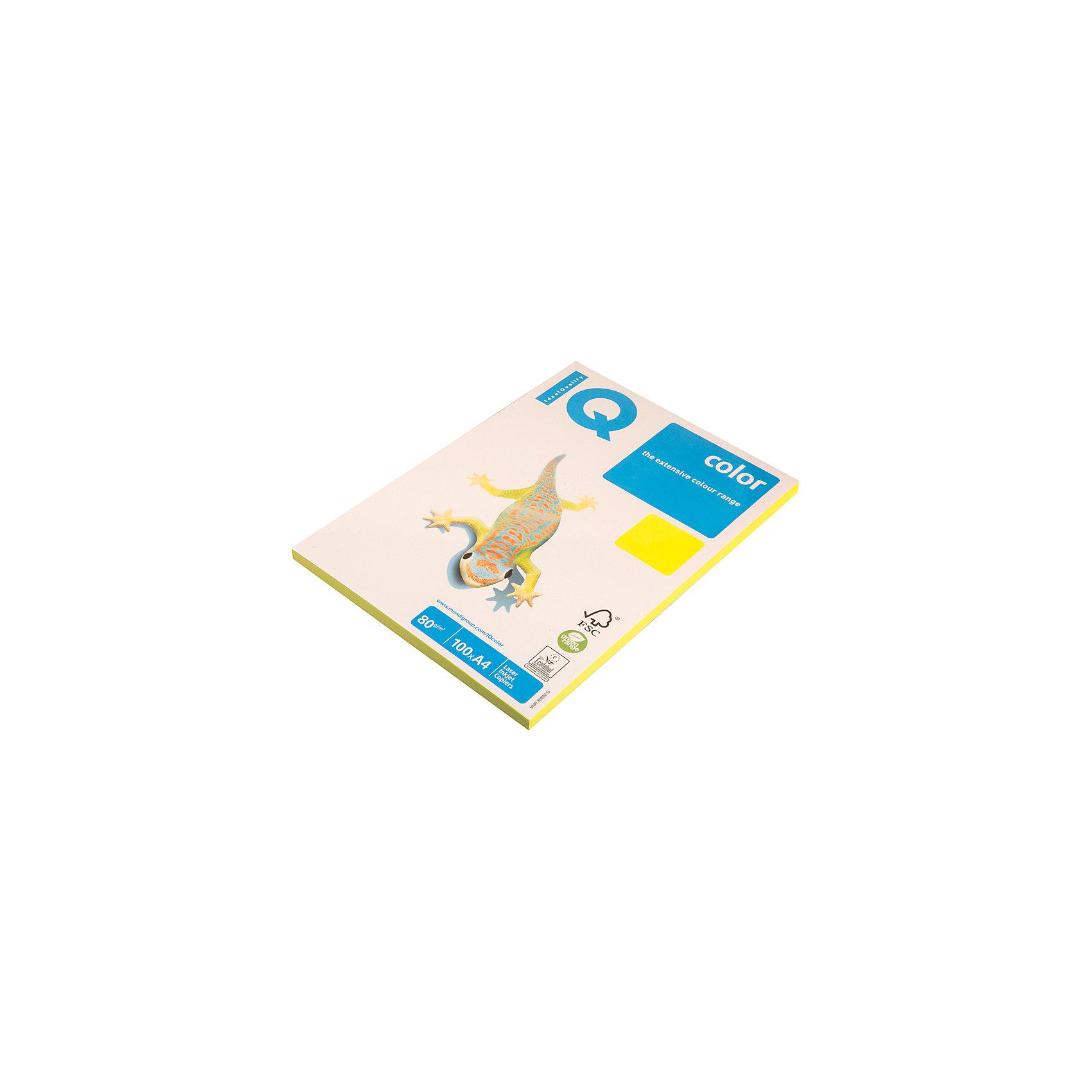 Бумага IQ Color neon А4 100 листов IQ, жёлтый неонБумажная продукция<br>Плотность бумаги: 80 <br>Формат : A4<br>Количество листов: 100<br>Цвет: желтый<br>Насыщенность цвета: неоновый<br>Толщина: 103<br>Непрозрачность: 92<br>Количество цветов в пачке: 1<br>Количество пачек в коробке: 22<br>Бумага форматная цветная, А4. Класс А+, упаковка 100 листов. Плотность бумаги 80 г/м?, яркость 104%. Насыщенный цвет.<br><br>Ширина мм: 280<br>Глубина мм: 220<br>Высота мм: 15<br>Вес г: 545<br>Возраст от месяцев: 60<br>Возраст до месяцев: 2147483647<br>Пол: Унисекс<br>Возраст: Детский<br>SKU: 7044306