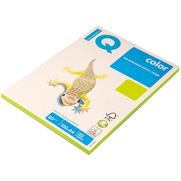 Бумага IQ Color neon А4 100 листов IQ, зеленый неонБумажная продукция<br>Плотность бумаги: 80 <br>Формат : A4<br>Количество листов: 100<br>Цвет: зеленый<br>Насыщенность цвета: неоновый<br>Толщина: 103<br>Непрозрачность: 92<br>Количество цветов в пачке: 1<br>Количество пачек в коробке: 22<br>Бумага форматная цветная, А4. Класс А+, упаковка 100 листов. Плотность бумаги 80 г/м?, яркость 104%. Насыщенный цвет.<br><br>Ширина мм: 280<br>Глубина мм: 220<br>Высота мм: 15<br>Вес г: 545<br>Возраст от месяцев: 60<br>Возраст до месяцев: 2147483647<br>Пол: Унисекс<br>Возраст: Детский<br>SKU: 7044307