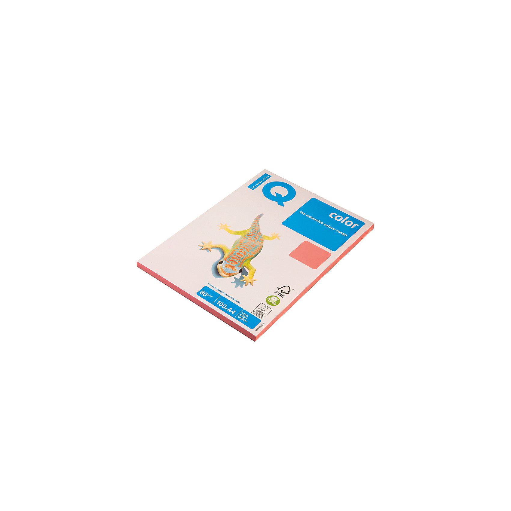 Бумага IQ Color neon А4 100 листов IQ, розовый неонБумажная продукция<br>Плотность бумаги: 80 <br>Формат : A4<br>Количество листов: 100<br>Цвет: розовый<br>Насыщенность цвета: неоновый<br>Толщина: 103<br>Непрозрачность: 92<br>Количество цветов в пачке: 1<br>Количество пачек в коробке: 22<br>Бумага форматная цветная, А4. Класс А+, упаковка 100 листов. Плотность бумаги 80 г/м?, яркость 104%. Насыщенный цвет.<br><br>Ширина мм: 280<br>Глубина мм: 220<br>Высота мм: 15<br>Вес г: 545<br>Возраст от месяцев: 60<br>Возраст до месяцев: 2147483647<br>Пол: Унисекс<br>Возраст: Детский<br>SKU: 7044309