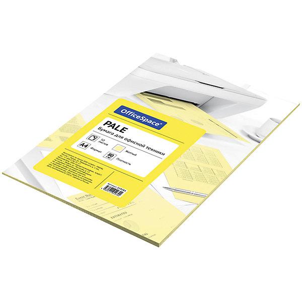 Бумага цветная pale А4 50 листов OfficeSpace, желтыйБумажная продукция<br>Плотность бумаги: 80 <br>Формат : A4<br>Количество листов: 50<br>Цвет: желтый<br>Насыщенность цвета: пастельный<br>Толщина: 103<br>Непрозрачность: 92<br>Количество цветов в пачке: 1<br>Количество пачек в коробке: 20<br>Цветная бумага формата А4, плотность 80 г/м2, цвет - желтый пастель, 50 листов, упаковка - т/у пленка с картонной подложкой.<br><br>Ширина мм: 298<br>Глубина мм: 208<br>Высота мм: 5<br>Вес г: 285<br>Возраст от месяцев: 60<br>Возраст до месяцев: 2147483647<br>Пол: Унисекс<br>Возраст: Детский<br>SKU: 7044321