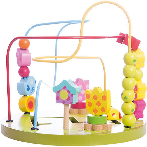 Сортер-лабиринт Classic World ШоссеДеревянные игрушки<br>Характеристики:<br><br>• возраст: от 1 года<br>• размер сортера: 28х20х26,5 см.<br>• материал: ABS пластик, дерево, МДФ, сталь<br>• размер упаковки: 27,5х27,5х25,5 см.<br>• вес: 1,2 кг.<br><br>Сортер- лабиринт «Шоссе» поможет познакомить малыша с фигурами и формами, а также развить его пространственное мышление.<br><br>Нижняя часть игрушки выполнена в виде города. На основании вырезан лабиринт, установлен шлагбаум и здание с подвижными элементами. По цветным проволокам, изогнутым под различными углами, можно передвигать различные яркие приятные на ощупь фигурки в виде машинок и дорожных знаков.  Во время игры ребенок учится анализировать: как сделать так, чтобы фигурка с одного конца лабиринта переместилась на другой.<br><br>Игрушка изготовлена из высококачественных материалов.<br><br>Сортер-лабиринт Classic World Шоссе можно купить в нашем интернет-магазине.<br>Ширина мм: 275; Глубина мм: 275; Высота мм: 255; Вес г: 1200; Возраст от месяцев: 12; Возраст до месяцев: 2147483647; Пол: Унисекс; Возраст: Детский; SKU: 7044533;