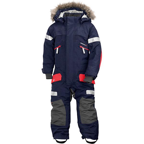 Комбинезон THERON DIDRIKSONSВерхняя одежда<br>Комбинезон из непромокаемой и непродуваемой мембранной ткани с утеплителем (180 г/м2). Проклеенные швы и дополнительная пропитка обеспечивают максимальную защиту от внешней влаги и ветра. Съемный капюшон. Съемный мех на капюшоне. Регулируемые капюшон, талия, рукава, ширина штанин. Внутренние эластичные манжеты с отверстием для большого пальца. Снежные гетры. Фронтальная молния под планкой. Крепления для перчаток и ботинок. Светоотражатели. Модель растет вместе с ребенком: специальный крой позволяет при необходимости увеличить длину рукава и штанин на один размер. Комфортный и надежный комбинезон защитит вашего ребенка в самую ненастную и холодную погоду.<br>Состав:<br>Верх-100% полиамид, подкладка-100% полиэстер<br><br>Ширина мм: 356<br>Глубина мм: 10<br>Высота мм: 245<br>Вес г: 519<br>Цвет: синий<br>Возраст от месяцев: 18<br>Возраст до месяцев: 24<br>Пол: Унисекс<br>Возраст: Детский<br>Размер: 90,130,120,110,100<br>SKU: 7044640