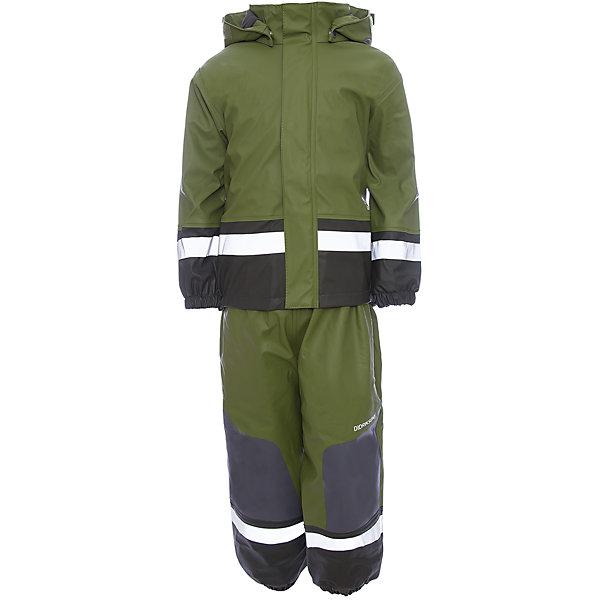 Комплект BOARDMAN DIDRIKSONSВерхняя одежда<br>Характеристики товара:<br><br>• цвет: зеленый<br>• комплектация: куртка, полукомбинезон<br>• состав ткани: 100% полиуретан<br>• подкладка: 100% полиэстер (флис)<br>• утеплитель: нет<br>• сезон: демисезон<br>• температурный режим: от +5 до +15<br>• водонепроницаемый<br>• пропаянные швы<br>• непродуваемый<br>• капюшон: без меха, съемный<br>• усиление зоны коленей<br>• штрипки<br>• застежка: молния<br>• страна бренда: Швеция<br>• страна изготовитель: Китай<br><br>Непромокаемый комплект для ребенка отличается стильным дизайном. Простой в уходе комплект Didriksons для мальчика сделан из легкого, но плотного материала. Материал детской куртки и полукомбинезона обеспечит защиту от грязи, влаги и ветра. Подкладка детского комплекта для межсезонья приятная на ощупь. <br><br>Комплект Boardman Didriksons (Дидриксонс) можно купить в нашем интернет-магазине.<br><br>Ширина мм: 356<br>Глубина мм: 10<br>Высота мм: 245<br>Вес г: 519<br>Цвет: зеленый<br>Возраст от месяцев: 12<br>Возраст до месяцев: 15<br>Пол: Унисекс<br>Возраст: Детский<br>Размер: 80,140,90,100,110,120,130<br>SKU: 7044719