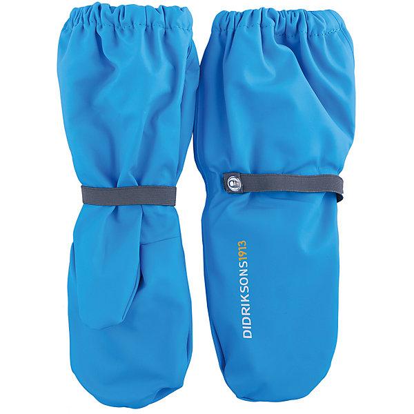Варежки PILEGLOVE DIDRIKSONS для мальчикаПерчатки, варежки<br>Характеристики товара:<br><br>• цвет: синий<br>• состав ткани: 100% полиуретан<br>• подкладка: 100% полиэстер (флис)<br>• утеплитель: нет<br>• сезон: демисезон<br>• температурный режим: от 0 до +5<br>• влагонепроницаемость: 8000 мм <br>• пропаянные швы<br>• непродуваемые<br>• застежка: резинка<br>• страна бренда: Швеция<br>• страна изготовитель: Китай<br><br>Непромокаемый плотный материал таких детских варежек обеспечит защиту от холода и влаги. Демисезонные варежки плотно держатся на руке благодаря мягкой резинке. Эти непромокаемые варежки для ребенка отличаются модным дизайном. Простые в уходе варежки сделаны из легкого, но прочного материала. <br><br>Варежки для мальчика Pileglove Didriksons (Дидриксонс) можно купить в нашем интернет-магазине.<br><br>Ширина мм: 162<br>Глубина мм: 171<br>Высота мм: 55<br>Вес г: 119<br>Цвет: голубой<br>Возраст от месяцев: 8<br>Возраст до месяцев: 24<br>Пол: Мужской<br>Возраст: Детский<br>Размер: 0,6,4,2<br>SKU: 7044796