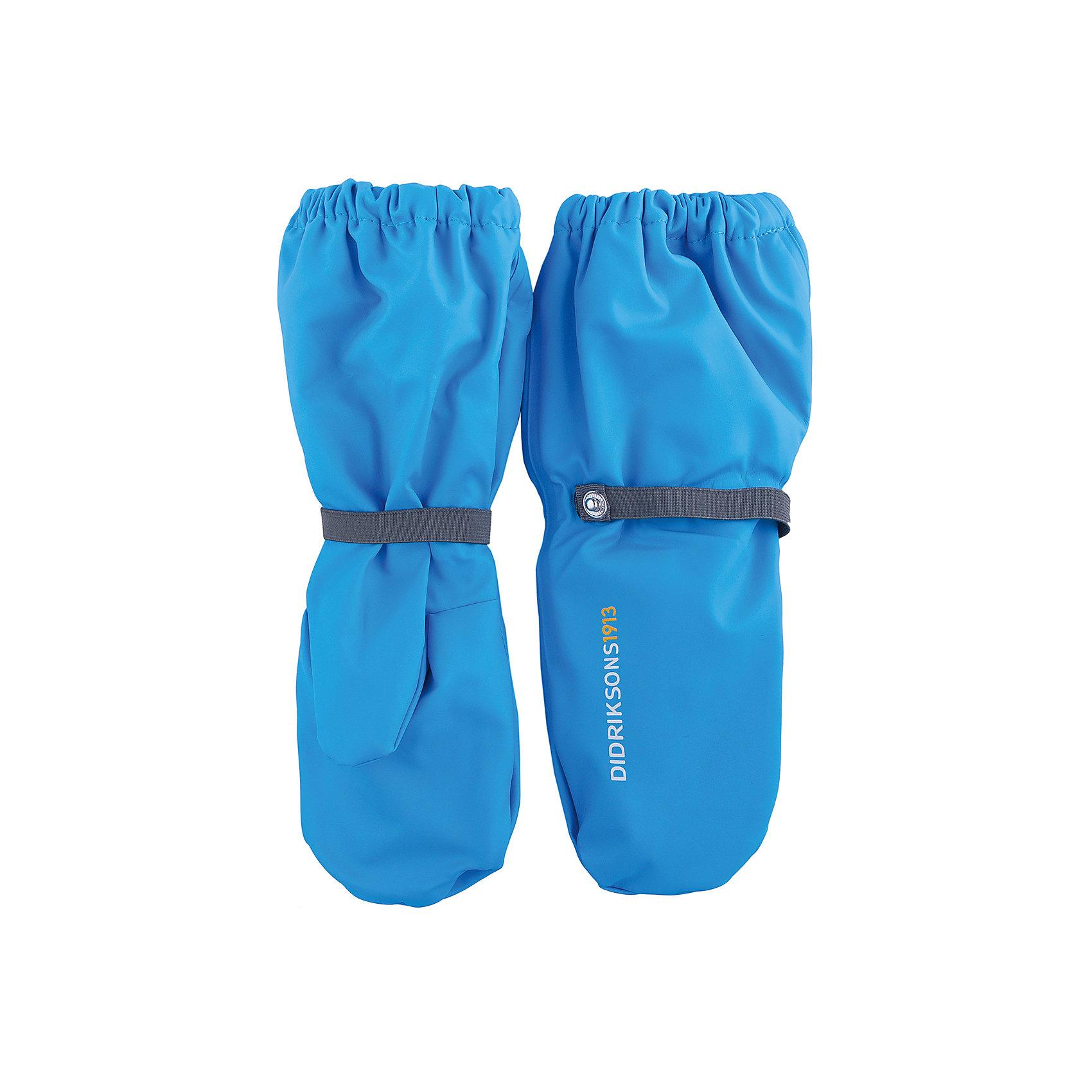 Варежки PILEGLOVE DIDRIKSONS для мальчикаПерчатки, варежки<br>Характеристики товара:<br><br>• цвет: синий<br>• состав ткани: 100% полиуретан<br>• подкладка: 100% полиэстер (флис)<br>• утеплитель: нет<br>• сезон: демисезон<br>• температурный режим: от 0 до +5<br>• влагонепроницаемость: 8000 мм <br>• пропаянные швы<br>• непродуваемые<br>• застежка: резинка<br>• страна бренда: Швеция<br>• страна изготовитель: Китай<br><br>Непромокаемый плотный материал таких детских варежек обеспечит защиту от холода и влаги. Демисезонные варежки плотно держатся на руке благодаря мягкой резинке. Эти непромокаемые варежки для ребенка отличаются модным дизайном. Простые в уходе варежки сделаны из легкого, но прочного материала. <br><br>Варежки для мальчика Pileglove Didriksons (Дидриксонс) можно купить в нашем интернет-магазине.<br><br>Ширина мм: 162<br>Глубина мм: 171<br>Высота мм: 55<br>Вес г: 119<br>Цвет: голубой<br>Возраст от месяцев: 132<br>Возраст до месяцев: 156<br>Пол: Мужской<br>Возраст: Детский<br>Размер: 6,0,2,4<br>SKU: 7044796