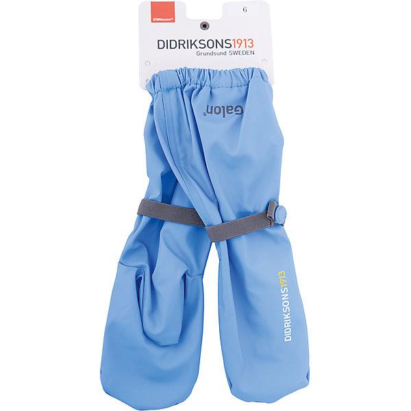 Варежки GLOVE DIDRIKSONS для мальчикаВарежки<br>Характеристики товара:<br><br>• цвет: синий<br>• состав ткани: 100% полиуретан<br>• подкладка: 100% полиэстер (флис)<br>• утеплитель: нет<br>• сезон: демисезон<br>• температурный режим: от +5 до +12<br>• влагонепроницаемость: 8000 мм <br>• пропаянные швы<br>• непродуваемые<br>• застежка: резинка<br>• страна бренда: Швеция<br>• страна изготовитель: Китай<br><br>Стильные демисезонные варежки плотно держатся на руке благодаря удобному фиксатору. Эти непромокаемые варежки для ребенка отличаются модным дизайном. Простые в уходе варежки сделаны из легкого износостойкого материала. Плотный материал таких детских варежек обеспечит защиту от холода и промокания. <br><br>Варежки для мальчика Glove Didriksons (Дидриксонс) можно купить в нашем интернет-магазине.<br>Ширина мм: 162; Глубина мм: 171; Высота мм: 55; Вес г: 119; Цвет: синий; Возраст от месяцев: 132; Возраст до месяцев: 156; Пол: Мужской; Возраст: Детский; Размер: 6,0,4,2; SKU: 7044828;