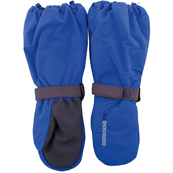 Варежки BIGGLES DIDRIKSONS для мальчикаПерчатки, варежки<br>Характеристики товара:<br><br>• цвет: синий<br>• состав ткани: 100% полиамид<br>• подкладка: 100% полиэстер (флис)<br>• утеплитель: 100% полиэстер<br>• сезон: зима<br>• мембранная<br>• температурный режим: от -20 до 0<br>• утеплитель: 60 г/м<br>• влагонепроницаемость: 1000 мм <br>• непродуваемые<br>• застежка: резинка<br>• страна бренда: Швеция<br>• страна изготовитель: Китай<br><br>Мембранные варежки для детей сделаны из легкого износостойкого материала. Плотный материал таких детских варежек обеспечит защиту от холода и промокания. Прочные теплые варежки плотно держатся на руке благодаря удобной резинке. Эти непромокаемые варежки для ребенка отличаются модным дизайном. <br><br>Варежки для мальчика Biggles Didriksons (Дидриксонс) можно купить в нашем интернет-магазине.<br><br>Ширина мм: 162<br>Глубина мм: 171<br>Высота мм: 55<br>Вес г: 119<br>Цвет: голубой<br>Возраст от месяцев: 12<br>Возраст до месяцев: 24<br>Пол: Мужской<br>Возраст: Детский<br>Размер: 2/4,6/8,4/6,0/2,8/10<br>SKU: 7044999
