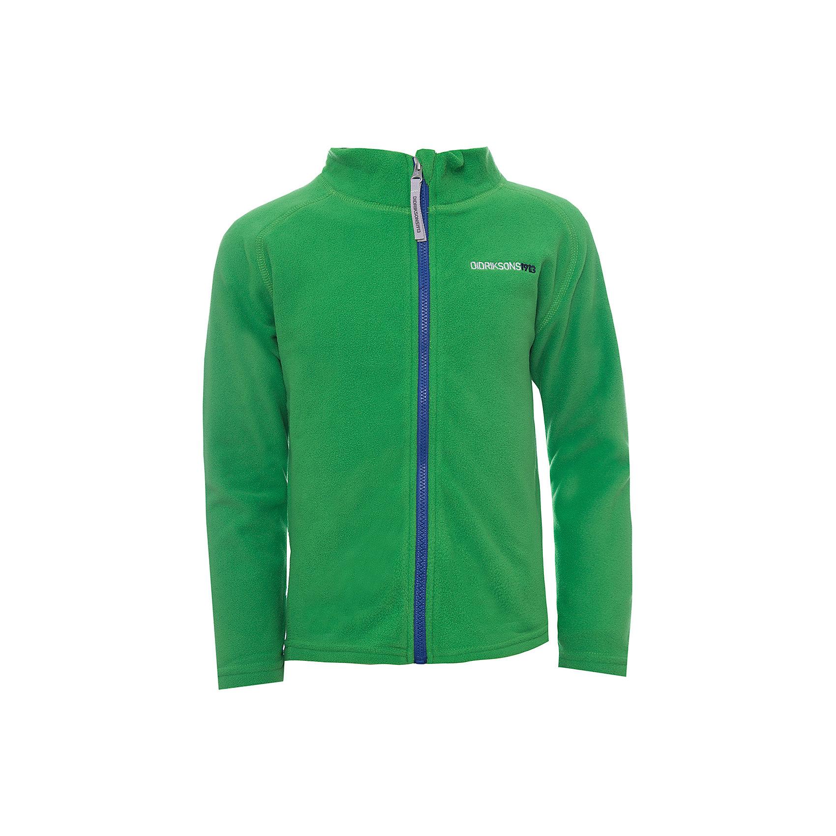 Куртка MONTE  DIDRIKSONSВерхняя одежда<br>Характеристики товара:<br><br>• цвет: зеленый<br>• состав ткани: 100% полиэстер (флис)<br>• утеплитель: нет<br>• сезон: демисезон<br>• теплоизоляционная<br>• застежка: молния<br>• страна бренда: Швеция<br>• страна изготовитель: Китай<br><br>Яркая детская куртка обладает хорошими теплоизоляционными свойствами. Мягкая детская куртка может надеваться под верхнюю одежду для дополнительного утепления. Флисовая детская куртка легко надевается благодаря продуманному крою. Такая куртка для ребенка отличается комфортной посадкой. <br><br>Куртку Monte Didriksons (Дидриксонс) можно купить в нашем интернет-магазине.<br><br>Ширина мм: 356<br>Глубина мм: 10<br>Высота мм: 245<br>Вес г: 519<br>Цвет: зеленый<br>Возраст от месяцев: 108<br>Возраст до месяцев: 120<br>Пол: Унисекс<br>Возраст: Детский<br>Размер: 140,80,90,100,110,120,130<br>SKU: 7045053