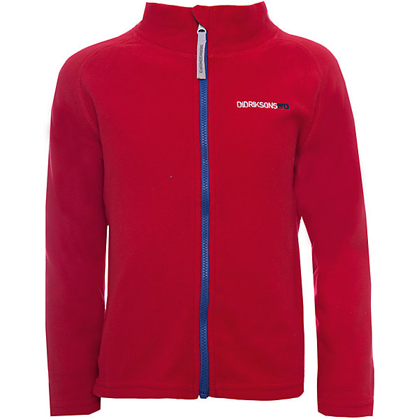 Куртка MONTE  DIDRIKSONS для мальчикаФлис и термобелье<br>Характеристики товара:<br><br>• цвет: красный<br>• состав ткани: 100% полиэстер (флис)<br>• утеплитель: нет<br>• сезон: демисезон<br>• теплоизоляционная<br>• застежка: молния<br>• страна бренда: Швеция<br>• страна изготовитель: Китай<br><br>Мягкая детская куртка может надеваться под верхнюю одежду для дополнительного утепления. Флисовая детская куртка легко надевается благодаря продуманному крою. Такая куртка для ребенка отличается комфортной посадкой. Детская куртка обладает хорошими теплоизоляционными свойствами. <br><br>Куртку для мальчика Monte Didriksons (Дидриксонс) можно купить в нашем интернет-магазине.<br>Ширина мм: 356; Глубина мм: 10; Высота мм: 245; Вес г: 519; Цвет: красный; Возраст от месяцев: 12; Возраст до месяцев: 15; Пол: Мужской; Возраст: Детский; Размер: 80,140,130,120,110,100,90; SKU: 7045064;