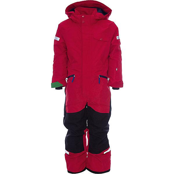 Комбинезон ALE DIDRIKSONS1913 для мальчикаВерхняя одежда<br>Характеристики товара:<br><br>• цвет: красный<br>• состав ткани: 100% полиэстер<br>• подкладка: 100% полиэстер<br>• утеплитель: 100% полиэстер<br>• сезон: зима<br>• мембранное покрытие<br>• температурный режим: от -20 до 0<br>• водонепроницаемость: 10000 мм <br>• паропроницаемость: 5000 г/м2<br>• плотность утеплителя: 140г/м2<br>• швы проклеены<br>• капюшон: без меха, съемный<br>• застежка: молния, кнопки<br>• регулируемый капюшон, талия, рукава и ширина штанин<br>• внутренние эластичные манжеты с отверстием для большого пальца<br>• снежные гетры<br>• крепления для перчаток и ботинок<br>• конструкция позволяет увеличить длину рукава и штанин на один размер<br>• светоотражающие детали<br>• страна бренда: Швеция<br>• страна изготовитель: Китай<br><br>Непромокаемый и непродуваемый верх детского комбинезона не мешает циркуляции воздуха. Модный комбинезон для мальчика Didriksons рассчитан даже на сильные морозы. Детский комбинезон от известного шведского бренда теплый и легкий. Мембранный зимний комбинезон для ребенка отличается продуманным дизайном. <br><br>Комбинезон для мальчика Ale Didriksons (Дидриксонс) можно купить в нашем интернет-магазине.<br>Ширина мм: 356; Глубина мм: 10; Высота мм: 245; Вес г: 519; Цвет: красный; Возраст от месяцев: 12; Возраст до месяцев: 15; Пол: Мужской; Возраст: Детский; Размер: 80,140,130,120,110,100,90; SKU: 7045156;