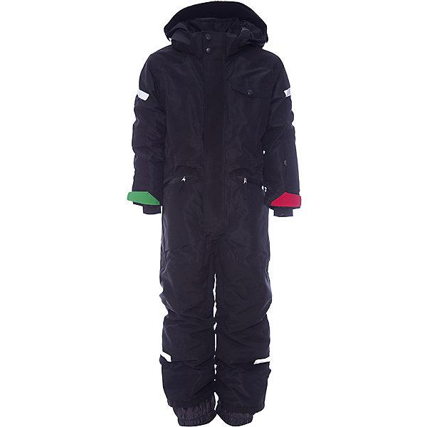 Комбинезон ALE DIDRIKSONS для мальчикаВерхняя одежда<br>Характеристики товара:<br><br>• цвет: черный<br>• состав ткани: 100% полиэстер<br>• подкладка: 100% полиэстер<br>• утеплитель: 100% полиэстер<br>• сезон: зима<br>• мембранное покрытие<br>• температурный режим: от -20 до 0<br>• водонепроницаемость: 10000 мм <br>• паропроницаемость: 5000 г/м2<br>• плотность утеплителя: 140г/м2<br>• швы проклеены<br>• капюшон: без меха, съемный<br>• застежка: молния, кнопки<br>• регулируемый капюшон, талия, рукава и ширина штанин<br>• внутренние эластичные манжеты с отверстием для большого пальца<br>• снежные гетры<br>• крепления для перчаток и ботинок<br>• конструкция позволяет увеличить длину рукава и штанин на один размер<br>• светоотражающие детали<br>• страна бренда: Швеция<br>• страна изготовитель: Китай<br><br>Черный теплый комбинезон для ребенка дополнен удобным капюшоном, планкой от ветра и карманами. Плотный верх детского зимнего комбинезона не промокает и не продувается, его легко чистить. Мембранный детский комбинезон отлично подойдет для зимних морозов. Мягкая подкладка детского комбинезона делает его очень комфортной. <br><br>Комбинезон для мальчика Ale Didriksons (Дидриксонс) можно купить в нашем интернет-магазине.<br>Ширина мм: 356; Глубина мм: 10; Высота мм: 245; Вес г: 519; Цвет: черный; Возраст от месяцев: 96; Возраст до месяцев: 108; Пол: Мужской; Возраст: Детский; Размер: 130,80,140,110,100,90,120; SKU: 7045164;