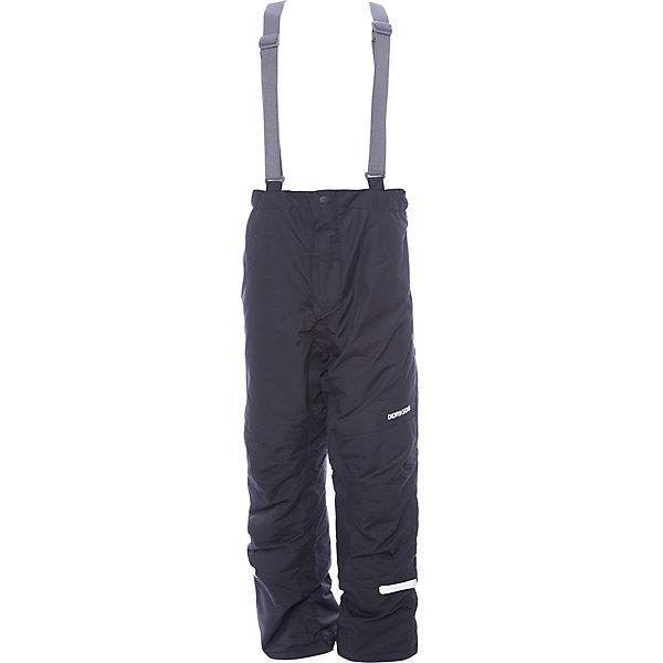 Брюки IDRE DIDRIKSONS для мальчикаВерхняя одежда<br>Характеристики товара:<br><br>• цвет: черный<br>• состав ткани: 100% полиамид<br>• подкладка: 100% полиэстер<br>• утеплитель: 100% полиэстер<br>• сезон: зима<br>• мембранная<br>• температурный режим: от -20 до 0<br>• водонепроницаемость: 6000 мм <br>• паропроницаемость: 4000 г/м2<br>• плотность утеплителя: 140г/м2<br>• швы проклеены<br>• регулируемые подтяжки и низ штанин<br>• фиксированные лямки<br>• снежные гетры с силиконовой резинкой<br>• штрипки<br>• застежка: молния<br>• светоотражающие детали<br>• конструкция позволяет увеличить длину штанин на один размер<br>• страна бренда: Швеция<br>• страна изготовитель: Китай<br><br>Оригинальные теплые брюки для ребенка Didriksons дополнены удобными подтяжками. Непромокаемый и непродуваемый материал детских брюк легко чистится. Детские брюки от известного шведского бренда теплые и легкие. Мембранные зимние брюки для ребенка отличаются продуманным дизайном. <br><br>Брюки для мальчика Idre Didriksons (Дидриксонс) можно купить в нашем интернет-магазине.<br><br>Ширина мм: 215<br>Глубина мм: 88<br>Высота мм: 191<br>Вес г: 336<br>Цвет: черный<br>Возраст от месяцев: 12<br>Возраст до месяцев: 15<br>Пол: Мужской<br>Возраст: Детский<br>Размер: 80,140,130,120,110,100,90<br>SKU: 7045266