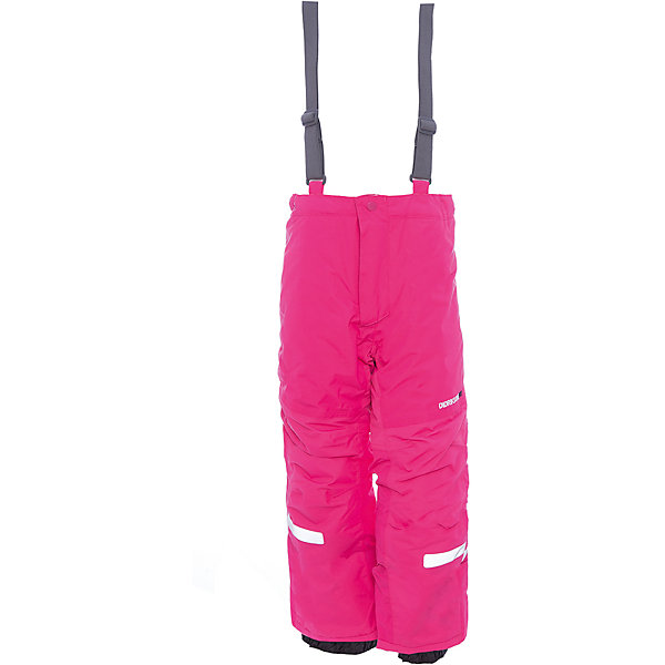 Брюки IDRE DIDRIKSONS для девочкиВерхняя одежда<br>Характеристики товара:<br><br>• цвет: фуксия<br>• состав ткани: 100% полиамид<br>• подкладка: 100% полиэстер<br>• утеплитель: 100% полиэстер<br>• сезон: зима<br>• мембранная<br>• температурный режим: от -20 до 0<br>• водонепроницаемость: 6000 мм <br>• паропроницаемость: 4000 г/м2<br>• плотность утеплителя: 140г/м2<br>• швы проклеены<br>• регулируемые подтяжки и низ штанин<br>• фиксированные лямки<br>• снежные гетры с силиконовой резинкой<br>• штрипки<br>• застежка: молния<br>• светоотражающие детали<br>• конструкция позволяет увеличить длину штанин на один размер<br>• страна бренда: Швеция<br>• страна изготовитель: Китай<br><br>Яркие детские брюки от известного шведского бренда теплые и легкие. Мембранные зимние брюки для ребенка отличаются продуманным дизайном. Непромокаемый и непродуваемый материал детских брюк легко чистится. Модные брюки для мальчика Didriksons рассчитаны на холодную погоду. <br><br>Брюки для девочки Idre Didriksons (Дидриксонс) можно купить в нашем интернет-магазине.<br><br>Ширина мм: 215<br>Глубина мм: 88<br>Высота мм: 191<br>Вес г: 336<br>Цвет: розовый<br>Возраст от месяцев: 12<br>Возраст до месяцев: 15<br>Пол: Женский<br>Возраст: Детский<br>Размер: 80,140,130,120,110,100,90<br>SKU: 7045274