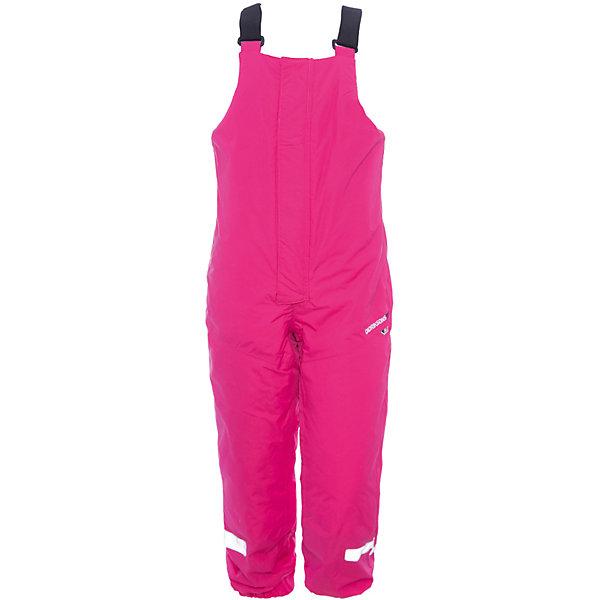 Полукомбинезон TARFALA BIB DIDRIKSONS для девочкиВерхняя одежда<br>Характеристики товара:<br><br>• цвет: фуксия<br>• состав ткани: 100% полиамид<br>• подкладка: 100% полиэстер<br>• утеплитель: 100% полиэстер<br>• сезон: зима<br>• мембранная<br>• температурный режим: от -20 до 0<br>• водонепроницаемость: 6000 мм <br>• паропроницаемость: 4000 г/м2<br>• плотность утеплителя: 140г/м2<br>• швы проклеены<br>• регулируемые подтяжки и низ штанин<br>• штрипки <br>• застежка: молния<br>• фиксированные лямки<br>• снежные гетры<br>• светоотражающие детали<br>• конструкция позволяет увеличить длину штанин на один размер<br>• страна бренда: Швеция<br>• страна изготовитель: Китай<br><br> Мембранные зимние брюки для ребенка отличаются продуманным дизайном - их легок можно увеличить на размер. Яркие детские брюки от известного шведского бренда теплые и легкие. Непромокаемый и непродуваемый материал детских брюк легко чистится. Модные брюки для мальчика Didriksons рассчитаны на холодную погоду. <br><br>Брюки для девочки Tarfala Bib Didriksons (Дидриксонс) можно купить в нашем интернет-магазине.<br>Ширина мм: 215; Глубина мм: 88; Высота мм: 191; Вес г: 336; Цвет: розовый; Возраст от месяцев: 48; Возраст до месяцев: 60; Пол: Женский; Возраст: Детский; Размер: 110,80,90,100; SKU: 7045293;