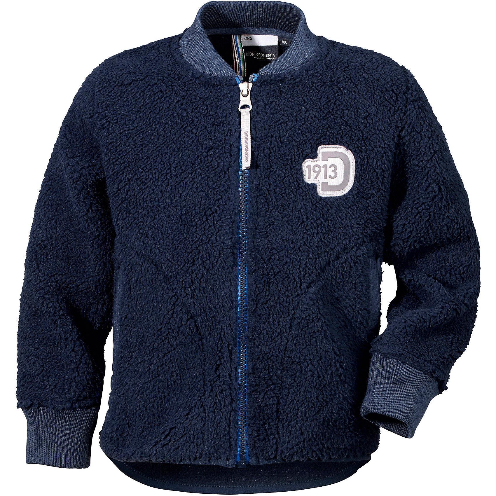 Куртка ORSA DIDRIKSONSФлис и термобелье<br>Характеристики товара:<br><br>• цвет: синий<br>• состав ткани: 100% полиэстер (флис)<br>• утеплитель: нет<br>• сезон: демисезон<br>• теплоизоляционная<br>• застежка: молния<br>• страна бренда: Швеция<br>• страна изготовитель: Китай<br><br>Эта теплая куртка для ребенка отличается комфортной посадкой. Детская куртка обладает хорошими теплоизоляционными свойствами. Мягкая детская куртка может надеваться под верхнюю одежду для дополнительного утепления. Флисовая детская куртка легко надевается благодаря удобной застежке. <br><br>Куртку Orsa Didriksons (Дидриксонс) можно купить в нашем интернет-магазине.<br><br>Ширина мм: 356<br>Глубина мм: 10<br>Высота мм: 245<br>Вес г: 519<br>Цвет: голубой<br>Возраст от месяцев: 12<br>Возраст до месяцев: 15<br>Пол: Унисекс<br>Возраст: Детский<br>Размер: 80,140,130,120,110,100,90<br>SKU: 7045298