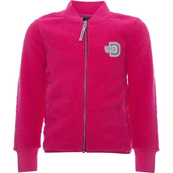 Куртка ORSA DIDRIKSONS для девочкиФлис и термобелье<br>Характеристики товара:<br><br>• цвет: фуксия<br>• состав ткани: 100% полиэстер (флис)<br>• утеплитель: нет<br>• сезон: демисезон<br>• теплоизоляционная<br>• застежка: молния<br>• страна бренда: Швеция<br>• страна изготовитель: Китай<br><br>Приятная на ощупь детская куртка обладает хорошими теплоизоляционными свойствами. Мягкая детская куртка может надеваться под верхнюю одежду для дополнительного утепления. Флисовая детская куртка легко надевается благодаря продуманному крою. Такая куртка для ребенка отличается комфортной посадкой. <br><br>Куртку для девочки Orsa Didriksons (Дидриксонс) можно купить в нашем интернет-магазине.<br>Ширина мм: 356; Глубина мм: 10; Высота мм: 245; Вес г: 519; Цвет: розовый; Возраст от месяцев: 12; Возраст до месяцев: 15; Пол: Женский; Возраст: Детский; Размер: 80,140,90,100,110,120,130; SKU: 7045306;