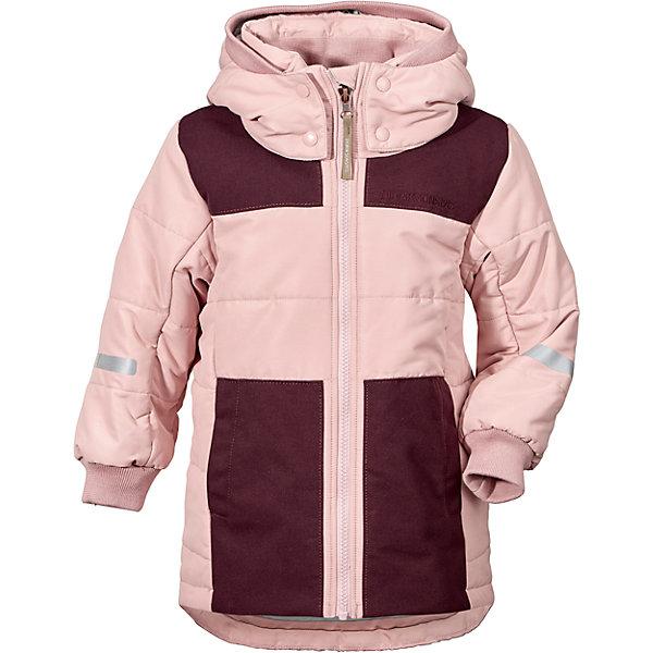 Куртка RIS DIDRIKSONS для девочкиВерхняя одежда<br>Характеристики товара:<br><br>• цвет: розовый<br>• состав ткани: 100% полиамид<br>• подкладка: 100% полиэстер<br>• утеплитель: 100% полиэстер<br>• сезон: зима<br>• температурный режим: от -10 до +5<br>• особенности модели: стеганая<br>• ветронепроницаемость<br>• плотность утеплителя: 240г/м2<br>• капюшон: без меха, съемный<br>• застежка: молния<br>• страна бренда: Швеция<br>• страна изготовитель: Китай<br><br>Непромокаемый и непродуваемый верх детской куртки не задерживает воздух. Модная куртка для мальчика Didriksons рассчитана даже на сильные морозы. Детская куртка от известного шведского бренда теплая и легкая. Мембранная зимняя куртка для ребенка отличается продуманным дизайном. <br><br>Куртку для девочки Ris Didriksons (Дидриксонс) можно купить в нашем интернет-магазине.<br>Ширина мм: 356; Глубина мм: 10; Высота мм: 245; Вес г: 519; Цвет: розовый; Возраст от месяцев: 12; Возраст до месяцев: 15; Пол: Женский; Возраст: Детский; Размер: 80,140,130,120,110,100,90; SKU: 7045322;
