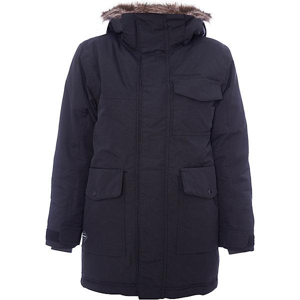 Куртка MATT  DIDRIKSONS для мальчикаВерхняя одежда<br>Характеристики товара:<br><br>• цвет: черный<br>• состав ткани: 100% полиамид<br>• подкладка: 100% полиэстер<br>• утеплитель: 100% полиэстер<br>• сезон: зима<br>• мембранное покрытие<br>• температурный режим: от -20 до 0<br>• водонепроницаемость: 5000 мм <br>• паропроницаемость: 4000 г/м2<br>• плотность утеплителя: 200г/м2<br>• регулируемый съемный капюшон<br>• съемный искусственный мех на капюшоне<br>• внутренние эластичные манжеты<br>• регулируемые манжеты, талия и низ изделия<br>• подкладка на спинке из искусственного меха<br>• застежка: молния<br>• страна бренда: Швеция<br>• страна изготовитель: Китай<br><br>Практичная куртка для ребенка Didriksons выполнена в универсальном черном цвете. Детская куртка от известного шведского бренда сделана с применением мембранной технологии. Эта зимняя куртка для ребенка отличается продуманным дизайном. Непромокаемый и непродуваемый верх детской куртки не задерживает воздух. <br><br>Куртку для мальчика Matt Didriksons (Дидриксонс) можно купить в нашем интернет-магазине.<br><br>Ширина мм: 356<br>Глубина мм: 10<br>Высота мм: 245<br>Вес г: 519<br>Цвет: черный<br>Возраст от месяцев: 156<br>Возраст до месяцев: 168<br>Пол: Мужской<br>Возраст: Детский<br>Размер: 160,170,150,140,130<br>SKU: 7045378