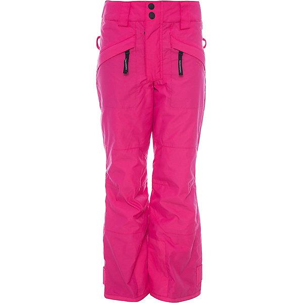Брюки SVEA DIDRIKSONS для девочкиВерхняя одежда<br>Характеристики товара:<br><br>• цвет: фуксия<br>• состав ткани: 100% полиамид<br>• подкладка: 100% полиэстер<br>• утеплитель: 100% полиэстер<br>• сезон: зима<br>• мембранная<br>• температурный режим: от -20 до 0<br>• водонепроницаемые <br>• непродуваемые<br>• плотность утеплителя: 60 г/м2<br>• швы проклеены<br>• подтяжки: регулируемые съемные <br>• штрипки<br>• застежка: молния<br>• страна бренда: Швеция<br>• страна изготовитель: Китай<br><br>Зимние брюки для ребенка Didriksons обеспечат хорошую защиту от ветра, холода и влаги. Детские брюки от известного шведского бренда теплые и легкие. Практичные зимние брюки для ребенка создают комфортные условия для тела. Непромокаемый и непродуваемый материал детских брюк легко чистится. <br><br>Брюки для девочки Svea Didriksons (Дидриксонс) можно купить в нашем интернет-магазине.<br><br>Ширина мм: 215<br>Глубина мм: 88<br>Высота мм: 191<br>Вес г: 336<br>Цвет: розовый<br>Возраст от месяцев: 96<br>Возраст до месяцев: 108<br>Пол: Женский<br>Возраст: Детский<br>Размер: 130,170,160,150,140<br>SKU: 7045402