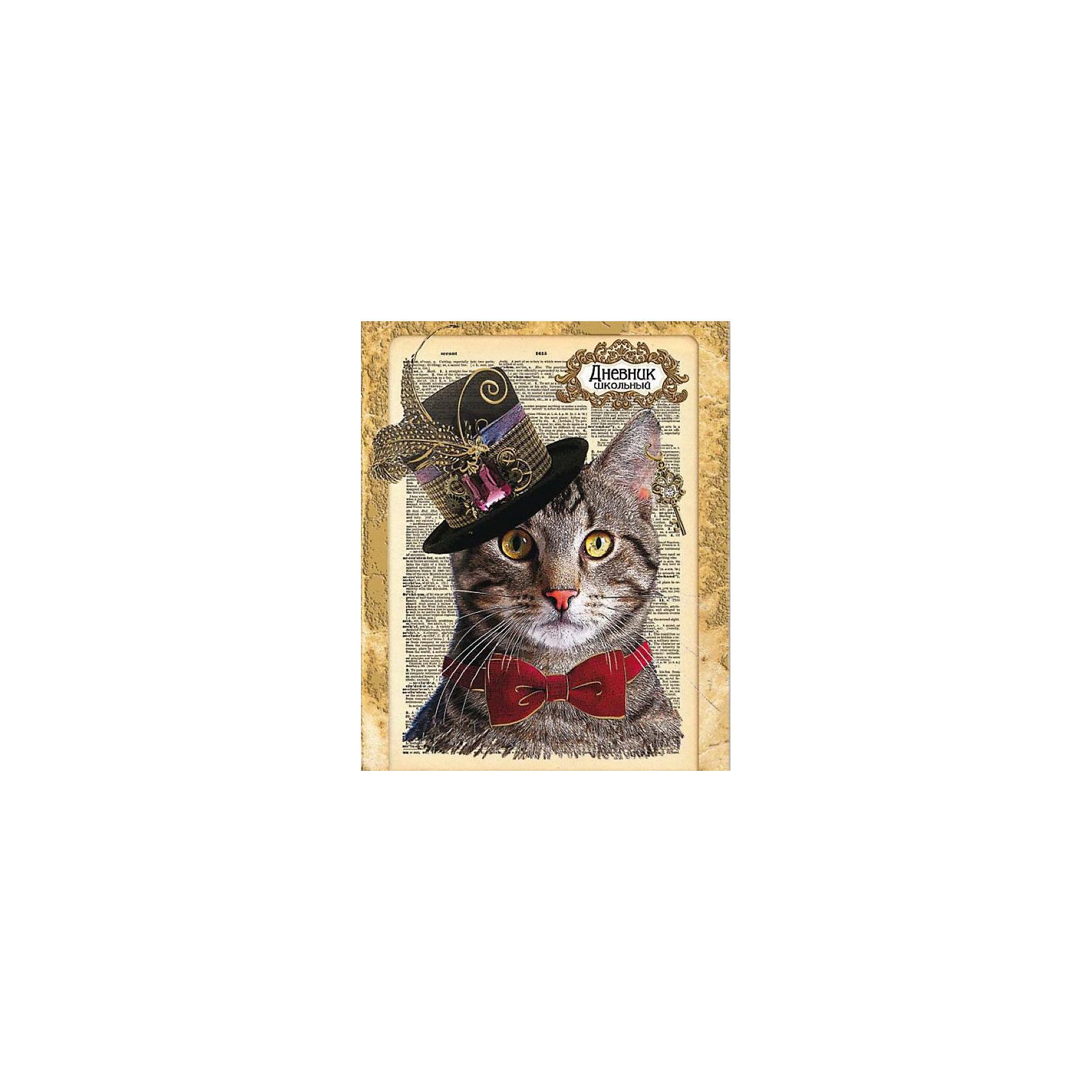 Дневник школьный Кот в шляпе Феникс+Бумажная продукция<br>Дневник шк. КОТ В ШЛЯПЕ (7БЦ с печатью по ткани, тисн. золотой фольгой, 96 стр. Цв. запечатка форзаца. Универсальная шпаргалка)<br><br>Ширина мм: 210<br>Глубина мм: 170<br>Высота мм: 10<br>Вес г: 220<br>Возраст от месяцев: 72<br>Возраст до месяцев: 2147483647<br>Пол: Унисекс<br>Возраст: Детский<br>SKU: 7046171