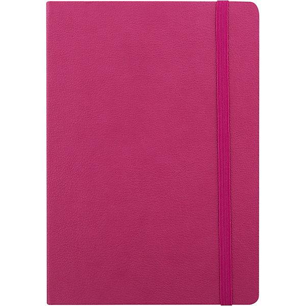 Записная книга на резинке Феникс+, малиновыйБумажная продукция<br>Записная книга на резинке  МАЛИНОВЫЙ (обложка кожзам, 145х205 мм, мягкий переплет, внутр. блок в клетку, 192 страницы, офсет, ляссе)<br><br>Ширина мм: 145<br>Глубина мм: 210<br>Высота мм: 15<br>Вес г: 250<br>Возраст от месяцев: 72<br>Возраст до месяцев: 2147483647<br>Пол: Унисекс<br>Возраст: Детский<br>SKU: 7046204