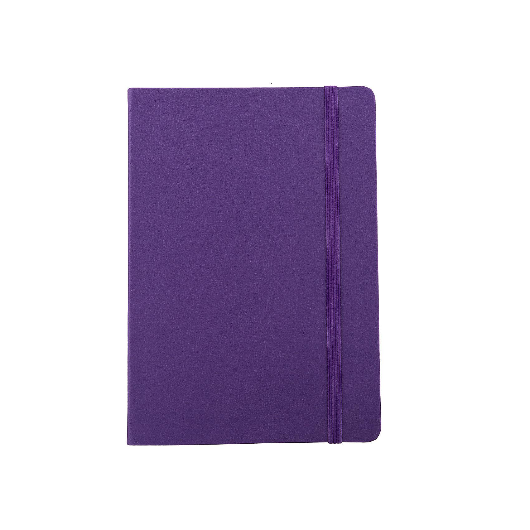 Записная книга на резинке Феникс+, фиолетовыйБумажная продукция<br>Записная книга на резинке ФИОЛЕТОВЫЙ (обложка кожзам, 145х205 мм, мягкий переплет, внутр. блок в клетку, 192 страницы, офсет, ляссе)<br><br>Ширина мм: 205<br>Глубина мм: 140<br>Высота мм: 10<br>Вес г: 250<br>Возраст от месяцев: 72<br>Возраст до месяцев: 2147483647<br>Пол: Унисекс<br>Возраст: Детский<br>SKU: 7046205