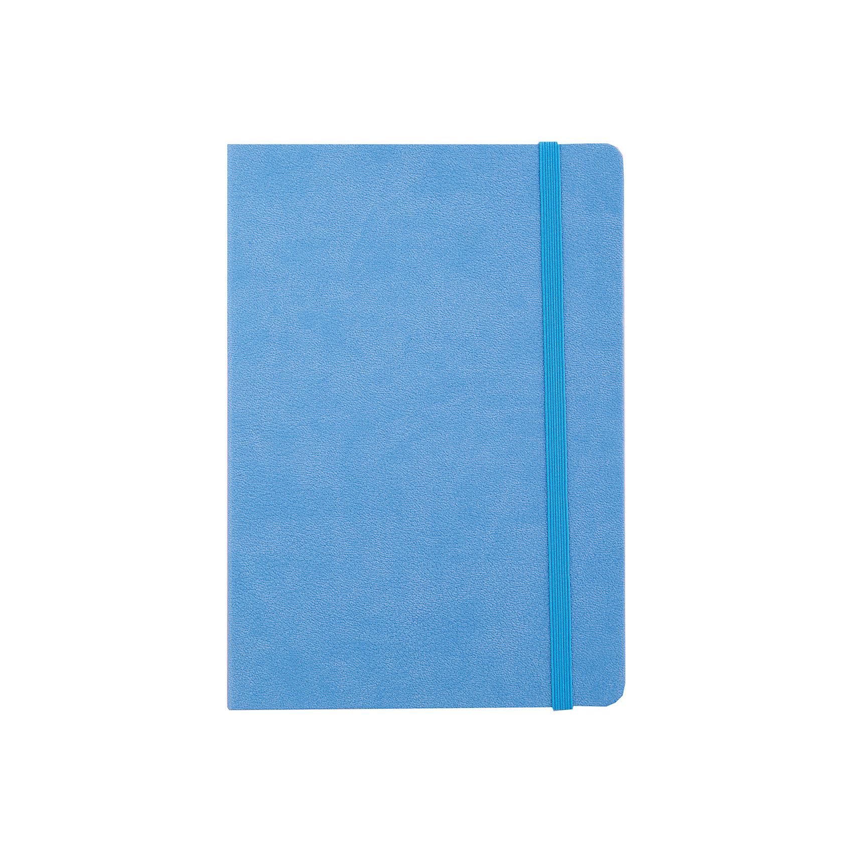 Записная книга на резинке Феникс+, голубойБумажная продукция<br>Записная книга на резинке ГОЛУБОЙ (обложка кожзам, 145х205 мм, мягкий переплет, внутр. блок в клетку, 192 страницы, офсет, ляссе)<br><br>Ширина мм: 205<br>Глубина мм: 140<br>Высота мм: 10<br>Вес г: 250<br>Возраст от месяцев: 72<br>Возраст до месяцев: 2147483647<br>Пол: Унисекс<br>Возраст: Детский<br>SKU: 7046206