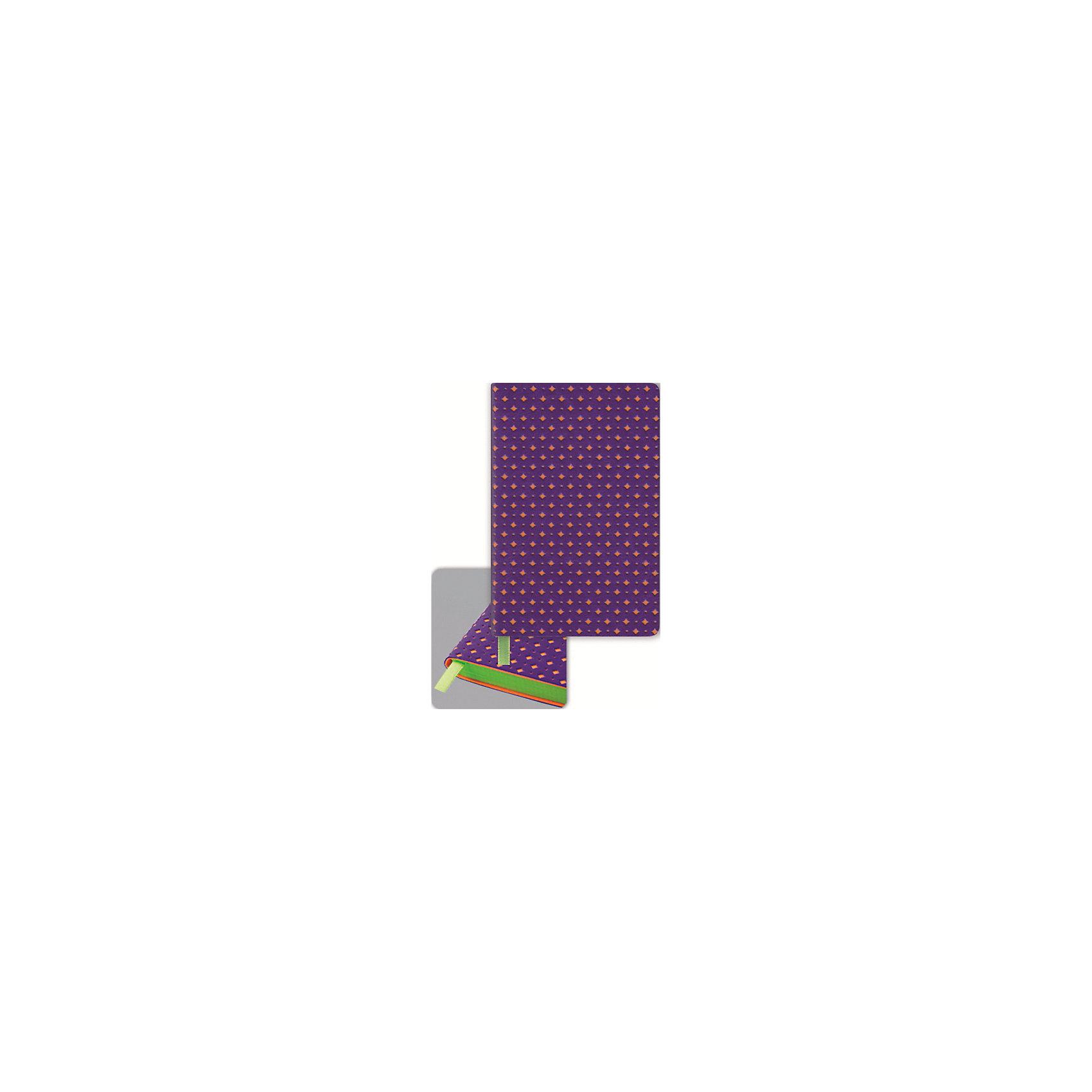 Записная книжка Феникс+, фиолетовый/оранжевыйБумажная продукция<br>Записная книжка Ноутбук ФИОЛЕТ.+ОРАНЖ. (СРЕЗ САЛАТОВ.) (92x145мм, 98 л., тонир. офсет 70 г, печать бл. в одну краску, запеч. форз. и среза пантоном. Обл. мягкая, декорирована перфорацией, закругленный корешок и углы переплета, ляссе, индивид. ПЭТ-упак.)<br><br>Ширина мм: 145<br>Глубина мм: 95<br>Высота мм: 10<br>Вес г: 105<br>Возраст от месяцев: 72<br>Возраст до месяцев: 2147483647<br>Пол: Унисекс<br>Возраст: Детский<br>SKU: 7046226