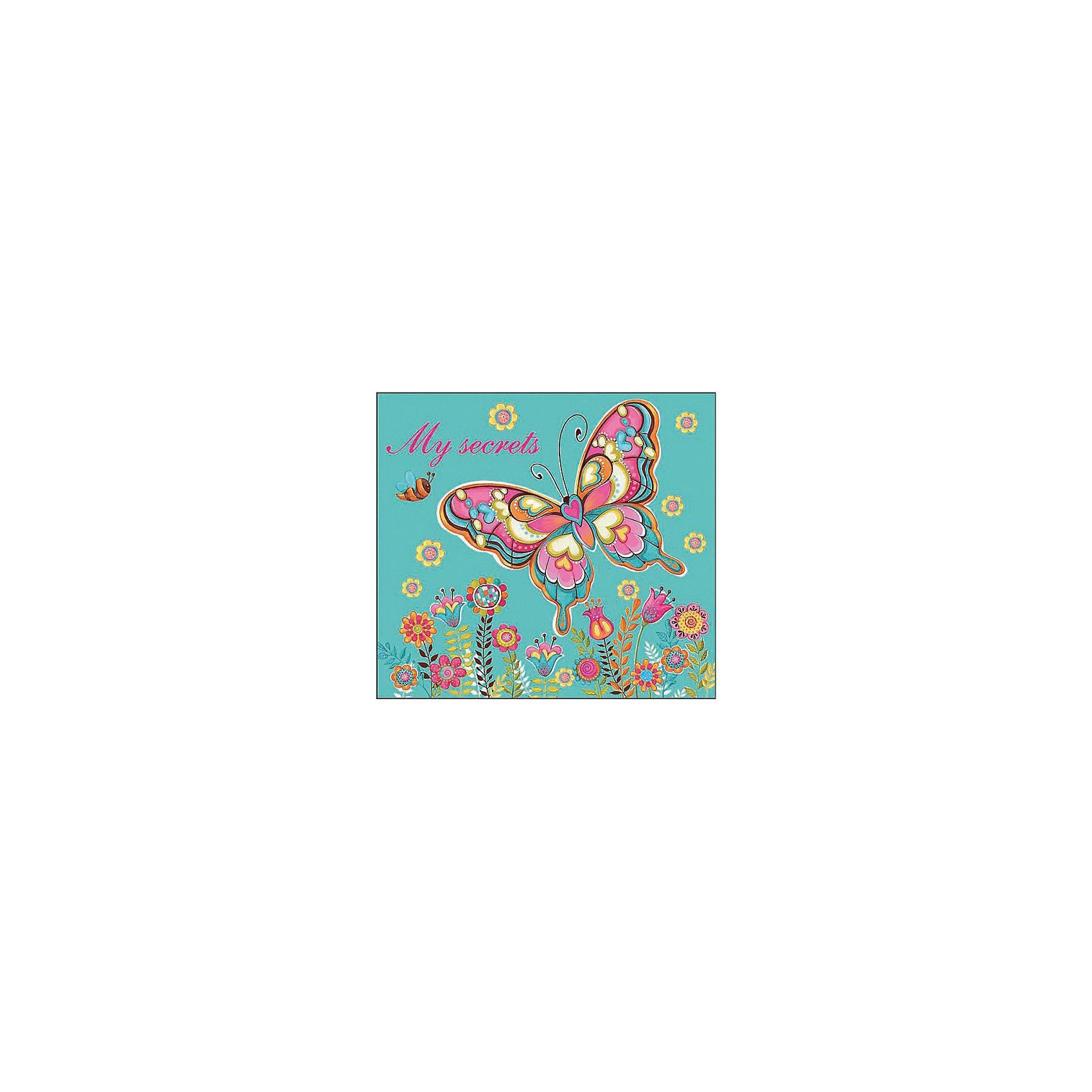 Органайзер трехблочный Бабочка и цветы  Феникс+Бумажная продукция<br>Органайзер трехблочный детский БАБОЧКА И ЦВЕТЫ (95х85мм, магнит. замок, обл. 7 БЦ, глянц. пленка, тисн. золот. фольгой,  бум. офсет, одноцв. печать блока. 3 отрывных блока (30 л., 60л., 28л.), Инд. ПЭТ-упак.)<br><br>Ширина мм: 90<br>Глубина мм: 90<br>Высота мм: 25<br>Вес г: 125<br>Возраст от месяцев: 72<br>Возраст до месяцев: 2147483647<br>Пол: Унисекс<br>Возраст: Детский<br>SKU: 7046266