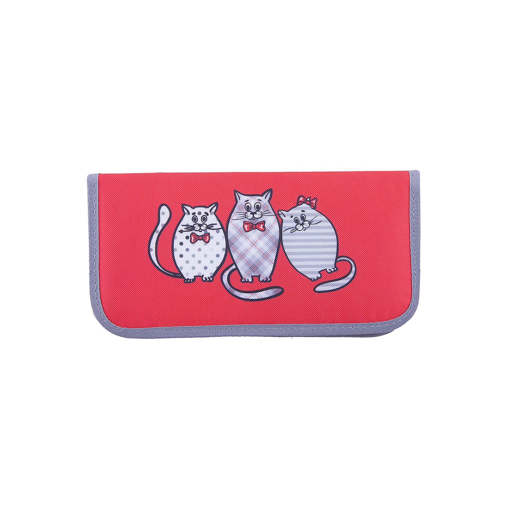 Пенал школьный Котики на красном  Феникс+Пеналы без наполнения<br>Пенал школьный  КОТИКИ НА КРАСНОМ (с 1-м отделением, без наполнения, 20х10х2.5см, из полиэстера плотн. 420D, на застежке молния)<br><br>Ширина мм: 200<br>Глубина мм: 100<br>Высота мм: 25<br>Вес г: 65<br>Возраст от месяцев: 72<br>Возраст до месяцев: 2147483647<br>Пол: Унисекс<br>Возраст: Детский<br>SKU: 7046327