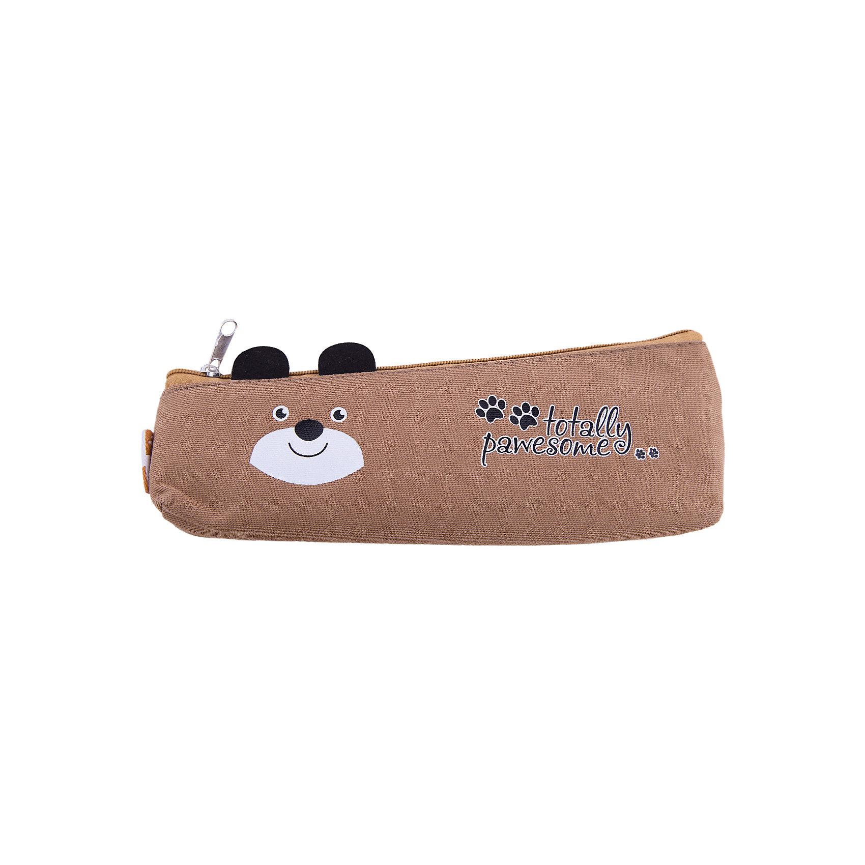 Пенал школьный Бурый мишка Феникс+Пеналы без наполнения<br>Пенал школьный БУРЫЙ МИШКА (без наполнения, 20х5/7,5x4,5см, х/б ткань, печать шелкографией, застеж.-молния, инд. ПЭТ-упак.)<br><br>Ширина мм: 210<br>Глубина мм: 80<br>Высота мм: 25<br>Вес г: 20<br>Возраст от месяцев: 72<br>Возраст до месяцев: 2147483647<br>Пол: Унисекс<br>Возраст: Детский<br>SKU: 7046355