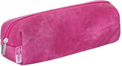 Пенал школьный Феникс+, розовый джинс фото-1
