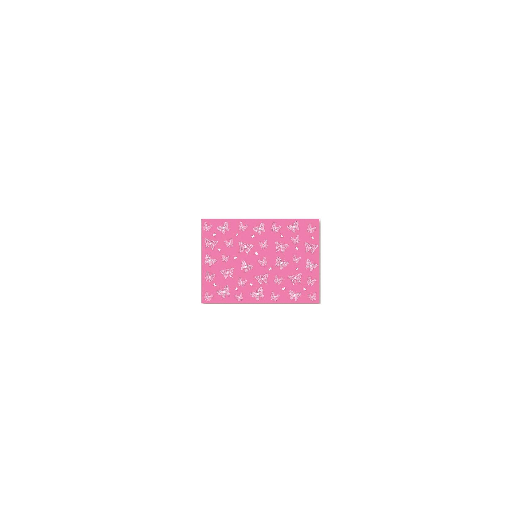 Пленка цветная для уроков труда Бабочки на розовом Феникс+Рисование и лепка<br>Пленка цв. д/уроков труда БАБОЧКИ НА РОЗОВОМ (50х70см, ПВХ, ПЭТ с европодвесом)<br><br>Ширина мм: 400<br>Глубина мм: 260<br>Высота мм: 2<br>Вес г: 72<br>Возраст от месяцев: 72<br>Возраст до месяцев: 2147483647<br>Пол: Унисекс<br>Возраст: Детский<br>SKU: 7046372