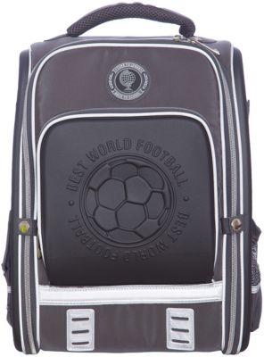 Ранец школьный Футбол Феникс+, серый