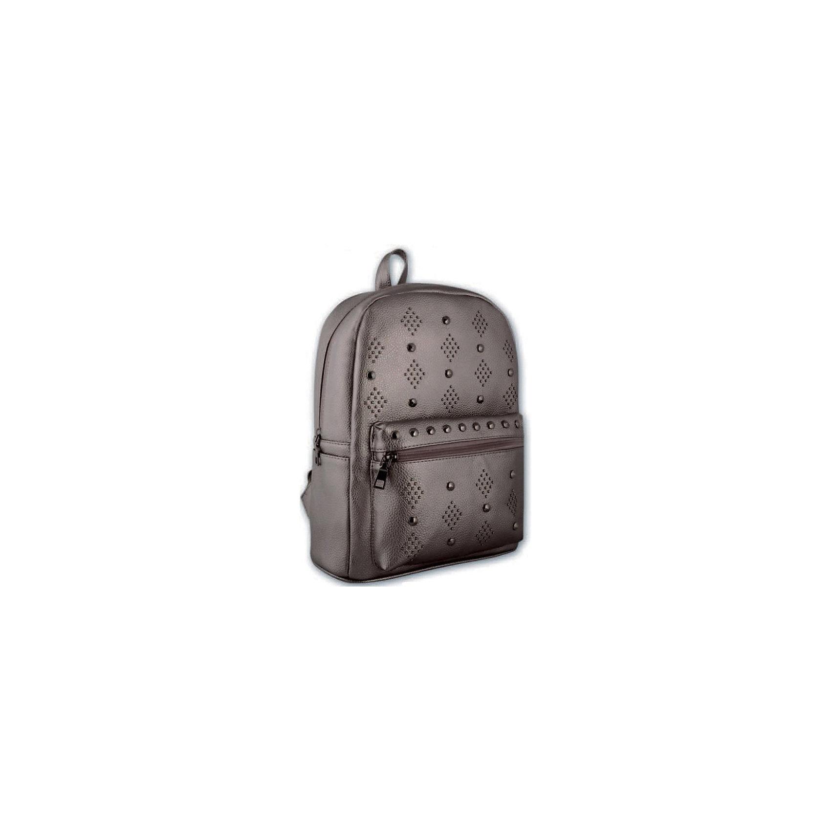 Рюкзак молодежный Феникс+, графитовый с клепкамиРюкзаки<br>Рюкзак молодежный ГРАФИТОВЫЙ С КЛЕПКАМИ (35х26х16см, кожзам, уплотн. лямки с регулировкой, декор. метал. заклепками, 1 фронт. и 2 бок. кармана, индив. ПЭТ-пакет)<br><br>Ширина мм: 350<br>Глубина мм: 260<br>Высота мм: 160<br>Вес г: 778<br>Возраст от месяцев: 72<br>Возраст до месяцев: 2147483647<br>Пол: Унисекс<br>Возраст: Детский<br>SKU: 7046419