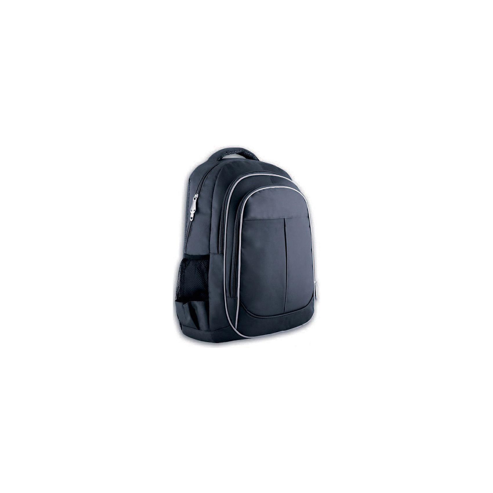 Рюкзак молодежный Феникс+, графитовыйРюкзаки<br>Рюкзак молодежный  ГРАФИТОВЫЙ (44х34х13см, полиэстер, светоотраж. элементы, уплотн. лямки с регулировкой, 2 фронт. и 2 бок. кармана, индив. ПЭТ-пакет)<br><br>Ширина мм: 450<br>Глубина мм: 310<br>Высота мм: 25<br>Вес г: 505<br>Возраст от месяцев: 72<br>Возраст до месяцев: 2147483647<br>Пол: Унисекс<br>Возраст: Детский<br>SKU: 7046423
