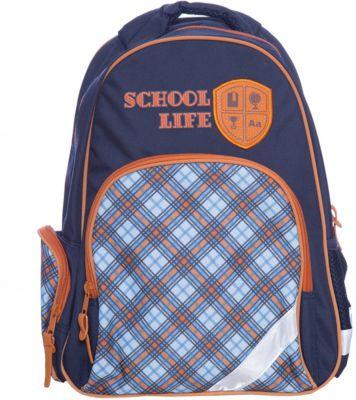 Рюкзак школьный Шотландка Феникс+