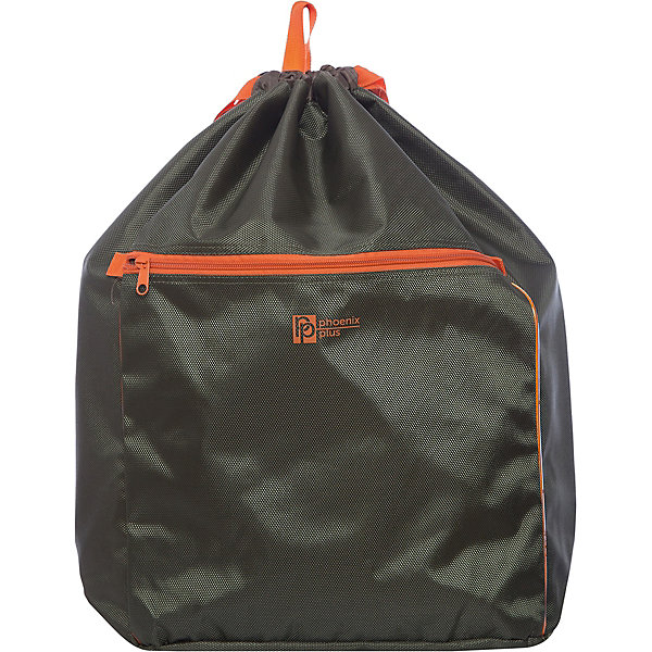 Рюкзак-мешок Феникс+, зеленыйРюкзаки<br>Рюкзак-мешок ЗЕЛЕНЫЙ (52х34х22см, полиэстер-жаккард плотн. 1680D, объемный карман на молнии, цв. фотоотраж. эл-ты, ручка-петля, плотные лямки)<br>Ширина мм: 520; Глубина мм: 340; Высота мм: 22; Вес г: 275; Возраст от месяцев: 72; Возраст до месяцев: 2147483647; Пол: Унисекс; Возраст: Детский; SKU: 7046437;