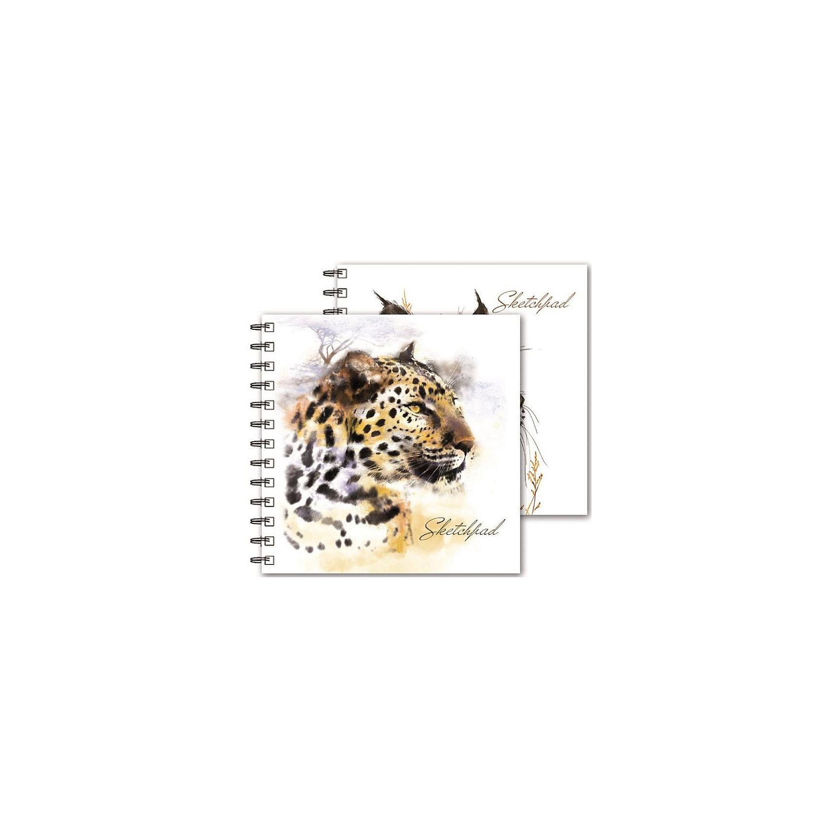 Альбом для эскизов Дикие кошки Феникс+Бумажная продукция<br>Скетчпад  (альбом для эскизов) ДИКИЕ КОШКИ /195*195 мм, 80 л. без запечатки, обложка 7БЦ под глянц. пленкой, блок - офсет, гребень, перевертыш/<br><br>Ширина мм: 230<br>Глубина мм: 195<br>Высота мм: 20<br>Вес г: 395<br>Возраст от месяцев: 72<br>Возраст до месяцев: 2147483647<br>Пол: Унисекс<br>Возраст: Детский<br>SKU: 7046443