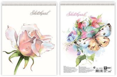 Альбом для эскизов Нежные цветы Феникс+ фото-1