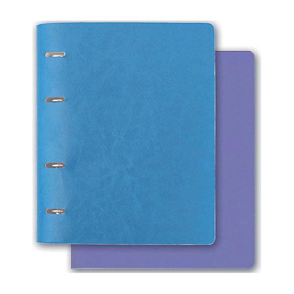 Тетрадь А5+ Феникс+, голубой + сиреневыйБумажная продукция<br>Характеристики:<br><br>• возраст: 6+;<br>• формат: А5;<br>• бумага: офсет;<br>• обложка: мягкая, обтянута искусственной кожей;<br>• разлиновка: клетка;<br>• количество листов: 160;<br>• размер: 22х17,5х2,4 см;<br>• масса: 460 г.;<br>• изготовитель: Феникс+, 2016 г.<br><br>Тетрадь с твердой обложкой из искусственной кожи с основным и сменным блоками на кольцах понадобится ученикам старших классов. Тетрадь в клетку предназначена для уроков математики, информатики, физики и других предметов. Четкая разлиновка и съемные страницы удобны для письма.<br><br>Тетрадь рассчитана на большое количество лекций, что позволяет сохранить весь учебный материал в одной тетради.<br><br>Тетрадь 5А+ (голубой и сиреневый), Феникс+ можно купить в нашем интернет-магазине.<br><br>Ширина мм: 220<br>Глубина мм: 170<br>Высота мм: 25<br>Вес г: 460<br>Возраст от месяцев: 72<br>Возраст до месяцев: 2147483647<br>Пол: Унисекс<br>Возраст: Детский<br>SKU: 7046485