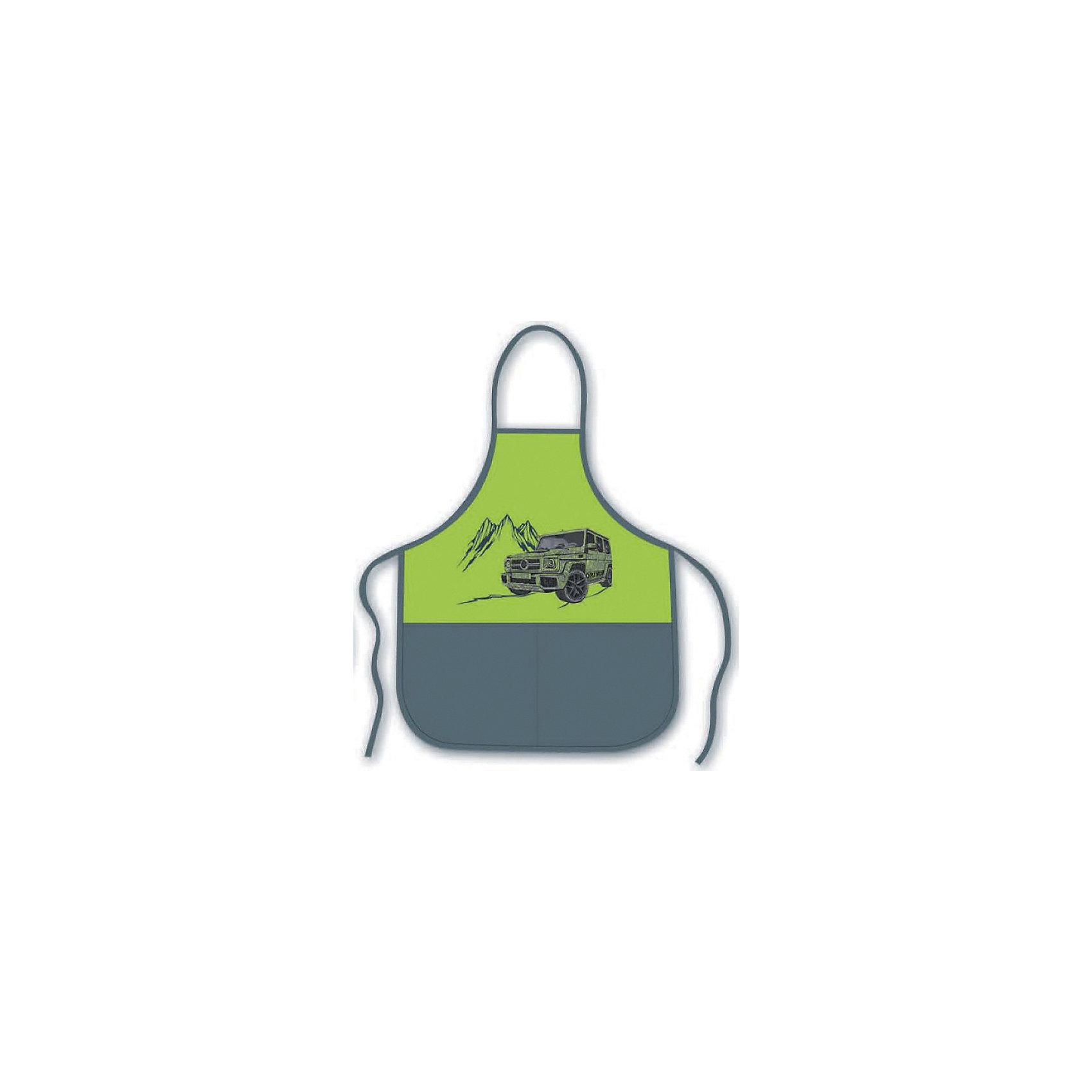 Фартук Джип на зеленом  Феникс+, для уроков трудаРисование и лепка<br>Фартук д/уроков труда и рисования ДЖИП НА ЗЕЛЕНОМ (2 кармана, полиэстер, размеры: фартук: 53х44.5см, без нарукавников; предназначен для мальчиков 6-10 лет, с ростом 116-140см и обхватом груди 58-71см)<br><br>Ширина мм: 270<br>Глубина мм: 220<br>Высота мм: 5<br>Вес г: 55<br>Возраст от месяцев: 72<br>Возраст до месяцев: 2147483647<br>Пол: Унисекс<br>Возраст: Детский<br>SKU: 7046504