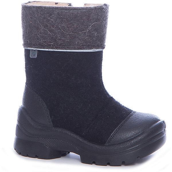 Валенки Титан Филипок для мальчикаВаленки<br>Характеристики товара:<br><br>• цвет: черный<br>• внешний материал: шерстяной войлок<br>• внутренний материал: шерстяной мех<br>• стелька: шерсть<br>• подошва: полиуретан<br>• сезон: зима<br>• температурный режим: от -20 до +5<br>• застежка: молния<br>• анатомические <br>• защита мыса<br>• страна бренда: Беларусь<br>• страна изготовитель: Беларусь<br><br>Практичные детские валенки крепко держатся на ноге. Валенки для ребенка помогут согреть ноги даже в сильные морозы. Теплые детские валенки дополнены антискользящей подошвой. Такие валенки для мальчика Филипок легко надеваются благодаря удобной застежке. <br><br>Валенки для мальчика Титан Филипок можно купить в нашем интернет-магазине.<br><br>Ширина мм: 257<br>Глубина мм: 180<br>Высота мм: 130<br>Вес г: 420<br>Цвет: черный<br>Возраст от месяцев: 21<br>Возраст до месяцев: 24<br>Пол: Мужской<br>Возраст: Детский<br>Размер: 24,32,31,30,29,28,27,26,25<br>SKU: 7048983