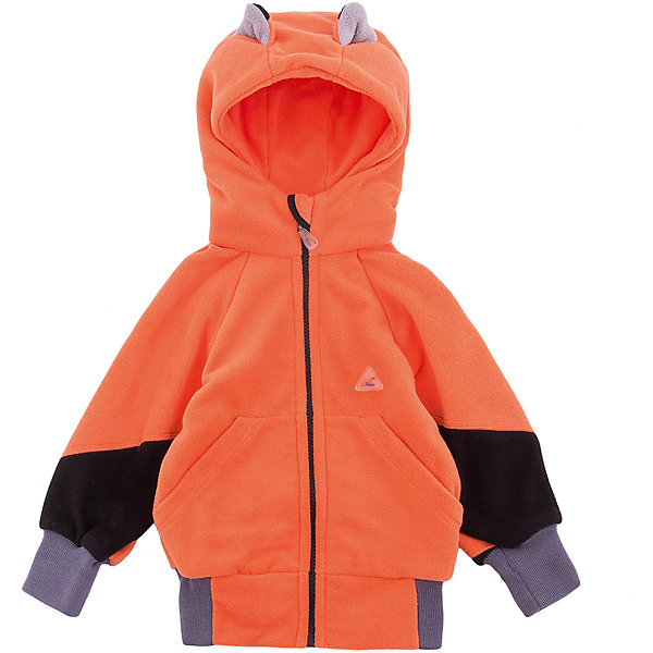 Кофта Ушки ЛисФлисФлис и термобелье<br>Характеристики товара:<br><br>• цвет: оранжевый;<br>• состав: 100% полиэстер, флис (280 гр);<br>• сезон: зима;<br>• особенности: флисовая, с капюшоном<br>• застежка: молния;<br>• защита подбородка от защемления;<br>• эластичные манжеты на рукавах;<br>• два прорезных кармана;<br>• декорирован лисьими ушками на капюшоне;<br>• страна бренда: Россия;<br>• страна производства: Россия.<br><br>Флисовая кофта на молнии. Изделие можно одевать как поддеву (дополнительный утепляющий слой) под мембранную одежду при минусовой температуре. А как самостоятельный элемент одежды (верхний слой) от +10 градусов. Прочная молния комбинезона расстегивается и застегивается одним движением руки. Флисовая кофта с капюшоном оранжевого цвета.<br><br>Кофту Ушки ЛисФлис можно купить в нашем интернет-магазине.<br><br>Ширина мм: 190<br>Глубина мм: 74<br>Высота мм: 229<br>Вес г: 236<br>Цвет: оранжевый<br>Возраст от месяцев: 12<br>Возраст до месяцев: 15<br>Пол: Унисекс<br>Возраст: Детский<br>Размер: 80,122,116,110,104,98,92,86<br>SKU: 7050616