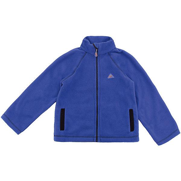 Кофта Радуга ЛисФлис для мальчикаФлис и термобелье<br>Характеристики товара:<br><br>• цвет: синий;<br>• состав: 100% полиэстер, флис;<br>• сезон: зима;<br>• особенности: флисовая;<br>• застежка: молния;<br>• защита подбородка от защемления;<br>• эластичные манжеты на рукавах;<br>• два прорезных кармана;<br>• страна бренда: Россия;<br>• страна производства: Россия.<br><br>Флисовая кофта на молнии. Изделие можно одевать как поддеву (дополнительный утепляющий слой) под мембранную одежду при минусовой температуре. А как самостоятельный элемент одежды (верхний слой) от +10 градусов. Прочная молния комбинезона расстегивается и застегивается одним движением руки. Флисовая кофта однотонного синего цвета.<br><br>Кофту Радуга ЛисФлис можно купить в нашем интернет-магазине.<br><br>Ширина мм: 190<br>Глубина мм: 74<br>Высота мм: 229<br>Вес г: 236<br>Цвет: синий<br>Возраст от месяцев: 18<br>Возраст до месяцев: 24<br>Пол: Мужской<br>Возраст: Детский<br>Размер: 92,86,80,146,140,134,128,122,116,110,104,98<br>SKU: 7050812
