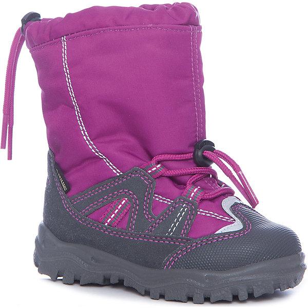 Сапоги Superfit для девочкиСапоги<br>Характеристики товара:<br><br>• цвет: розовый<br>• внешний материал: текстиль<br>• внутренний материал: текстиль<br>• стелька: шерсть<br>• подошва: полимер<br>• сезон: зима<br>• мембранные<br>• температурный режим: от +5 до -25<br>• особенности модели: спортивный стиль<br>• застежка: утяжка<br>• защита мыса <br>• анатомические <br>• подошва не скользит<br>• страна бренда: Австрия<br>• страна изготовитель: Румыния<br><br>Удобная обувь для детей от австрийского бренда Superfit - выбор многих родителей. Она качественная и модная. Зимние сапоги для девочки с мембраной Gore-Tex помогут обеспечить удобство в холодную погоду.<br><br>Сапоги для девочки Superfit (Суперфит) можно купить в нашем интернет-магазине.<br><br>Ширина мм: 257<br>Глубина мм: 180<br>Высота мм: 130<br>Вес г: 420<br>Цвет: розовый<br>Возраст от месяцев: 15<br>Возраст до месяцев: 18<br>Пол: Женский<br>Возраст: Детский<br>Размер: 22,30,29,28,27,26,25,24,23<br>SKU: 7051056