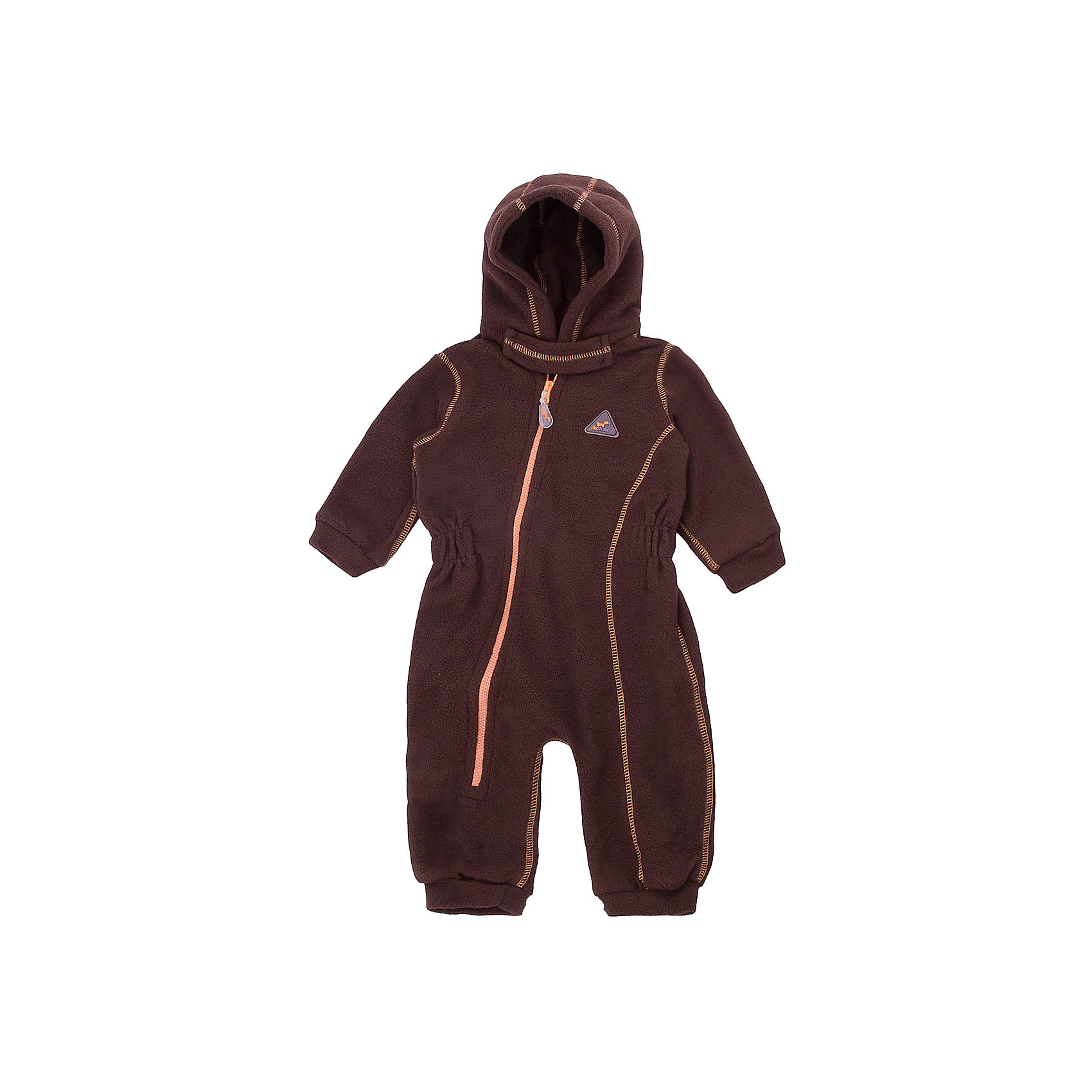 Комбинезон для малышей Шоколад ЛисФлис для мальчикаФлис и термобелье<br>Характеристики товара:<br><br>• цвет: коричневый;<br>• состав: 100% полиэстер, флис;<br>• сезон: зима;<br>• особенности: флисовый, с капюшоном;<br>• застежка: молния по диагонали;<br>• защита подбородка от защемления;<br>• эластичные манжеты на рукавах и штанинах;<br>• страна бренда: Россия;<br>• страна производства: Россия.<br><br>Флисовый комбинезон на молнии. Изделие можно одевать как поддеву (дополнительный утепляющий слой) под мембранную одежду при минусовой температуре. А как самостоятельный элемент одежды (верхний слой) от +10 градусов. Прочная молния комбинезона расстегивается и застегивается одним движением руки. Флисовый комбинезон с капюшоном.<br><br>Комбинезон для малышей Шоколад ЛисФлис можно купить в нашем интернет-магазине.<br><br>Ширина мм: 356<br>Глубина мм: 10<br>Высота мм: 245<br>Вес г: 519<br>Цвет: коричневый<br>Возраст от месяцев: 12<br>Возраст до месяцев: 15<br>Пол: Мужской<br>Возраст: Детский<br>Размер: 80,62,68,74<br>SKU: 7052630