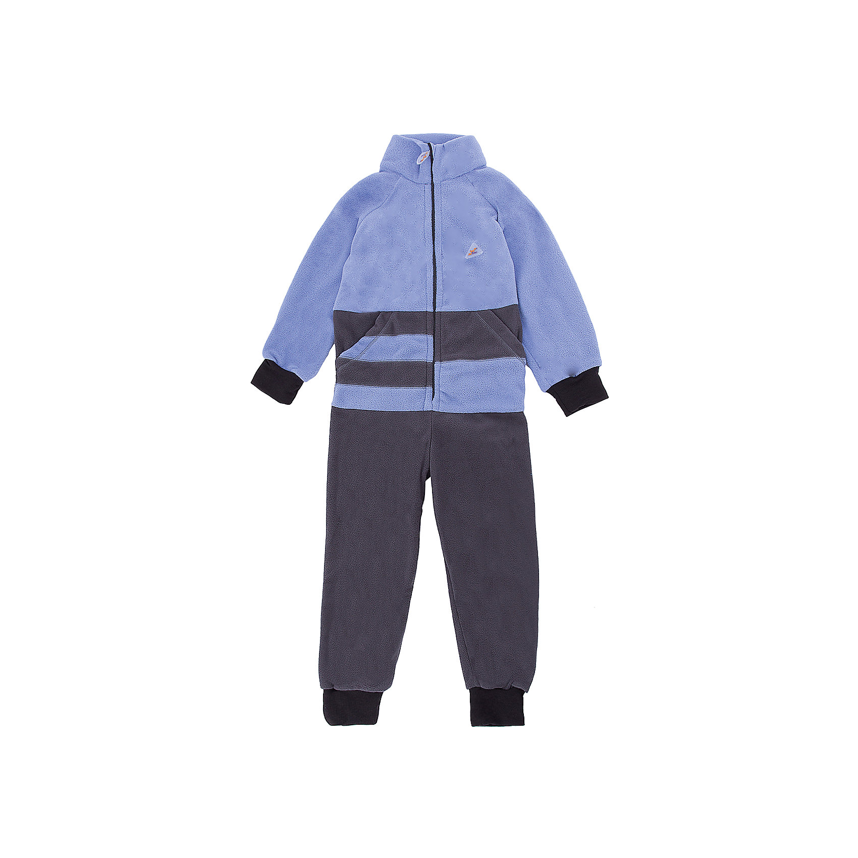Комбинезон Полоска ЛисФлис для мальчикаФлис и термобелье<br>Характеристики товара:<br><br>• цвет: голубой/серый;<br>• состав: 100% полиэстер, флис (180 гр);<br>• сезон: зима;<br>• особенности: флисовый, без капюшона;<br>• застежка: молния;<br>• защита подбородка от защемления;<br>• эластичные манжеты на рукавах и штанинах;<br>• резинка на спинке для лучшей посадки:<br>• страна бренда: Россия;<br>• страна производства: Россия.<br><br>Флисовый комбинезон на молнии. Изделие можно одевать как поддеву (дополнительный утепляющий слой) под мембранную одежду при минусовой температуре. А как самостоятельный элемент одежды (верхний слой) от +10 градусов. Прочная молния комбинезона расстегивается и застегивается одним движением руки. Флисовый комбинезон без капюшона.<br><br>Комбинезон Полоска ЛисФлис можно купить в нашем интернет-магазине.<br><br>Ширина мм: 356<br>Глубина мм: 10<br>Высота мм: 245<br>Вес г: 519<br>Цвет: голубой<br>Возраст от месяцев: 24<br>Возраст до месяцев: 36<br>Пол: Мужской<br>Возраст: Детский<br>Размер: 98,134,80,86,92,104,110,116,122,128<br>SKU: 7052738