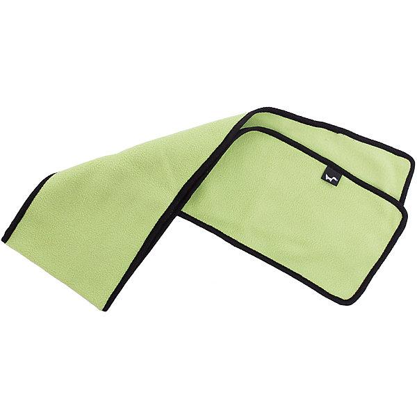 Шарф ЛисФлисФлис и термобелье<br>Характеристики товара:<br><br>• цвет: зеленый;<br>• состав: 100% полиэстер, флис (280 гр);<br>• сезон: зима;<br>• особенности: флисовый, двухсторонний;<br>• двухсторонний шарф;<br>• ширина шарфа: 16 см;<br>• мягкий и теплый;<br>• страна бренда: Россия;<br>• страна производства: Россия.<br><br>Шарф — прекрасное дополнение к любому комплекту, кофте или комбинезону. Двухсторонний шарф  выполнен из флиса 280 гр.<br><br>Шарф ЛисФлис можно купить в нашем интернет-магазине.<br>Ширина мм: 88; Глубина мм: 155; Высота мм: 26; Вес г: 106; Цвет: зеленый; Возраст от месяцев: 60; Возраст до месяцев: 132; Пол: Унисекс; Возраст: Детский; Размер: one size; SKU: 7052847;